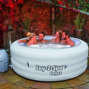 aufblasbarer Whirlpool Bestway Whirlpool Lay-Z-Spa Vegas