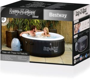 aufblasbarer Whirlpool-Bestway Whirlpool Lay-Z-Spa Miami