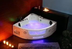 Luxus Whirlpool Badewanne für 2 Personen